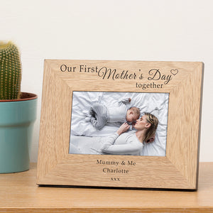 Our First Mother's Day Together Photo Frame