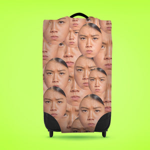 Faces All Over - Caseskin - Medium | Bits & Bobbets