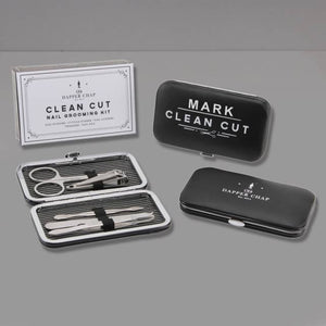 Personalised Clean Cut Manicure Set | Bits & Bobbets