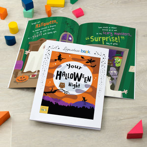 Personalised Halloween Book | Bits & Bobbets