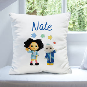 Personalised Moon and Me Pepi Nana & Moon Baby Cushion | Bits & Bobbets