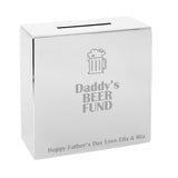 Personalised Beer Square Money Box | Bits & Bobbets