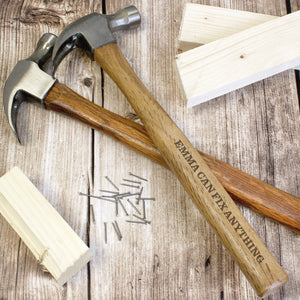 Personalised Bold Text Hammer | Bits & Bobbets