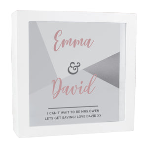 Personalised Wedding Fund and Keepsake Box | Bits & Bobbets