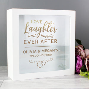 Personalised Happily Ever After Wedding Fund Box | Bits & Bobbets
