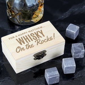 Personalised Whisky Stones | Bits & Bobbets
