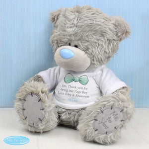 Personalised Me To You Bear for Pageboy and Usher | Bits & Bobbets