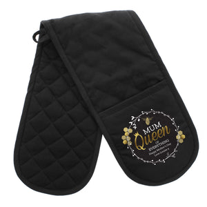 Personalised Queen Bee Oven Gloves | Bits & Bobbets