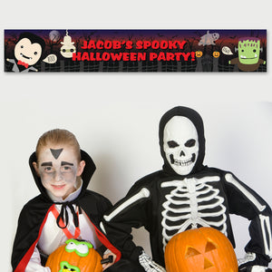 Personalised Halloween Banner | Bits & Bobbets