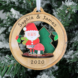 Personalised Make Your Own Toadstool Santa 3D Decoration Kit | Bits & Bobbets