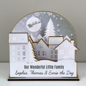 Personalised Make Your Own Town 3D Decoration Kit | Bits & Bobbets