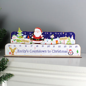 Personalised Make Your Own Santa Christmas Advent Countdown Kit | Bits & Bobbets