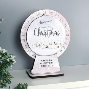 Personalised Make Your Own Christmas Advent Countdown Kit | Bits & Bobbets