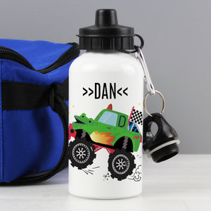 Personalised Monster Truck Drinks Bottle | Bits & Bobbets