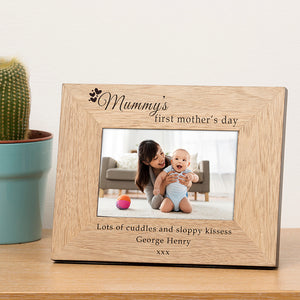 Mummy's First Mother's Day Photo Frame