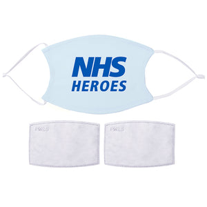 Printed Face Mask - NHS Heroes Design | Bits & Bobbets