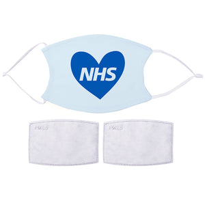 Printed Face Mask - Love NHS Design | Bits & Bobbets
