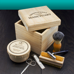 Personalised Manctuary Male Grooming Box | Bits & Bobbets