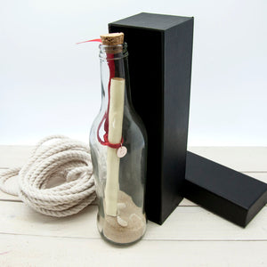 Personalised Message in a Bottle | Bits & Bobbets