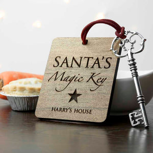 Personalised Santa's Magic Key | Bits & Bobbets
