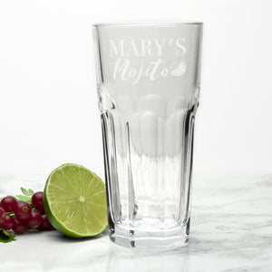 Personalised Mojito Glass | Bits & Bobbets