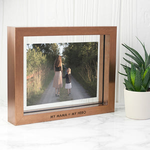 Personalised Metallic Copper Toned Photo Frame | Bits & Bobbets
