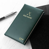 Personalised Luxury Leather Golf Notes | Bits & Bobbets