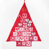 Personalised Festive Hanging Advent Calendar