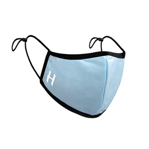 Personalised Face Mask in Cornflower Blue | Bits & Bobbets