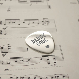 Personalised Daddy Cool Plectrum | Bits & Bobbets