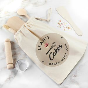 Personalised Kids Home Bakery Set