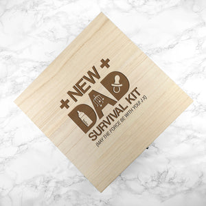 Personalised New Dad Survival Kit | Bits & Bobbets