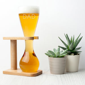 Personalised Quarter Yard Ale Glass | Bits & Bobbets