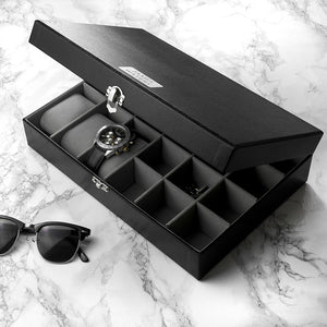 Personalised Watch & Cufflinks Box | Bits & Bobbets