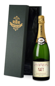 Personalised Valentine's Day Champagne