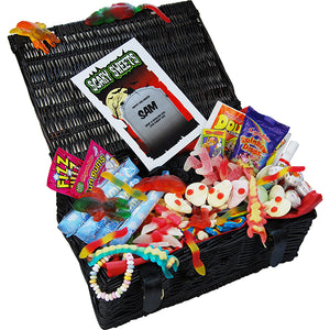 Personalised Deluxe Spooky Sweet Hamper | Bits & Bobbets