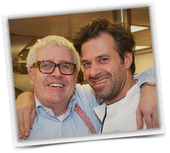Sergio Herman met Paul Herman HermanWines