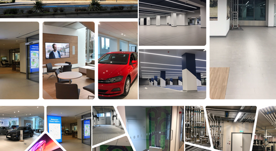 LiGO+ Lighting Control System installed at Flagship VW dealership