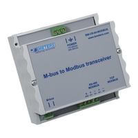 MB-CR-64 M-Bus to Modbus Converter