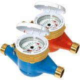 BMeters Water Meter Wireless M-Bus BSP Screwed DN50, (50mm) Q3 25 - L300mm