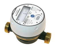 BMeters Hydrodigit Wireless Water Meter M-Bus BSP Screwed DN15, (15mm) Q3 2.5 - L110mm