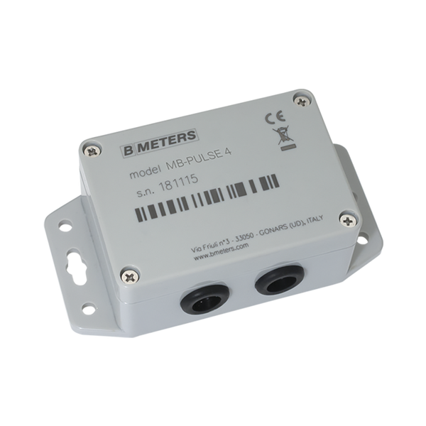 BMeter Pulse to M-Bus Converter, Four Channel
