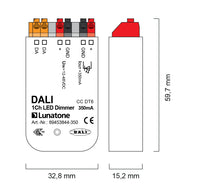 DALI 1Ch LED dimmer CC (Constant Current)