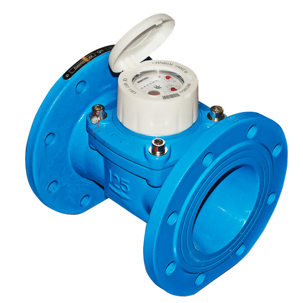 BMeters Water Meter Wireless M-Bus PN16 Flanged DN200, (200mm) Q3 400 - L350mm