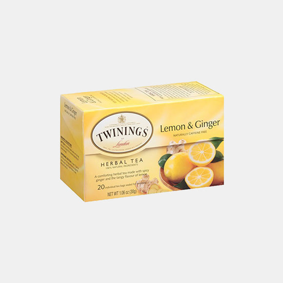 Twinings Lemon & Ginger Tea | Woolco Foods Grocery Delivery