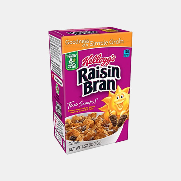Kellogg's Raisin Bran, Individual Packs | Woolco Foods