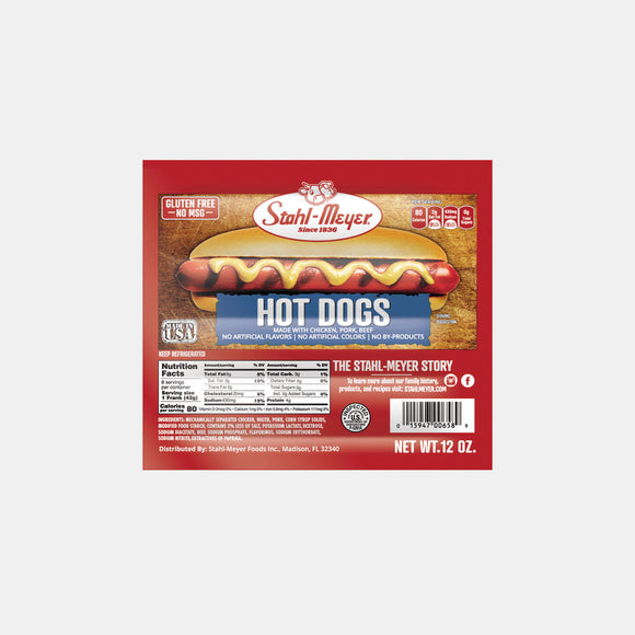 Stahlmeyer Beef Hot Dogs | Woolco Foods Grocery Delivery