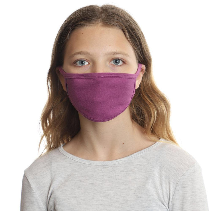 Kids Purple Face Mask 3-Pack by ello