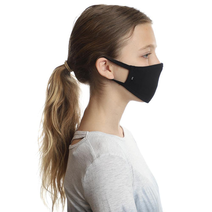 child fit face mask black