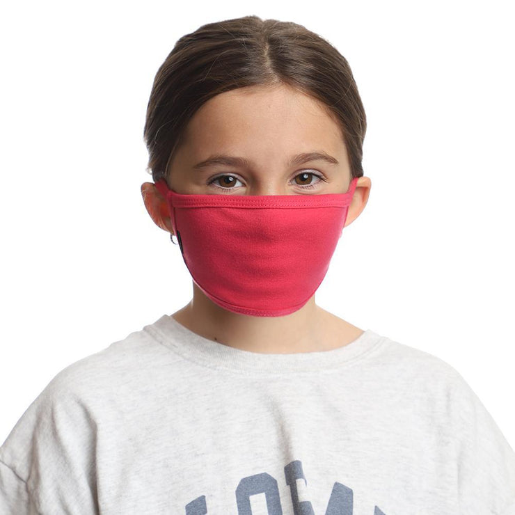 kids face protection in pink